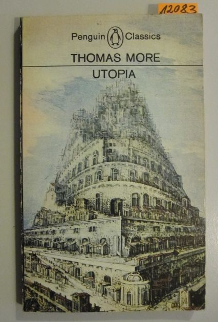 More, Thomas  Utopia.- Penguin Classics.