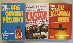 Keen, Tom  3 Thriller: Das Tasamanga-Fieber. Das Omaha-Projekt. & Das Geheimnis der Caistor. (Spionage-Schiff)