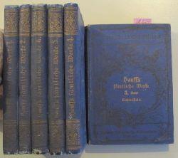 Hauff, Wilhelm  Wilhelm Hauffs sämtliche Werke in sechs Bänden. (komplett)