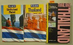 Egginton, Jane; Miethig, Martina & Scholz, Rainer  3 Reiseführer: Polyglott: Thailand. Südthailand Phuket. & National Geographic Thailand.