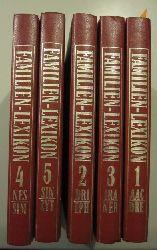 verschiedene Autoren  Familienlexikon in 5 Bänden. (Familien-Lexikon. Komplett)