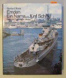 Koop, Gerhard  Emden. Ein Name - fünf Schiffe. - Reihe: Wehrtechnik im Bild.