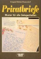 Wolter, Irmgard  Privatbriefe Behördenkorrespondenz