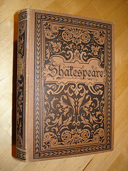 Shakespeare, William:  William Shakespeares sämtliche dramatische Werke in 3 Bd. (nur) Bd. 3.