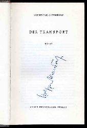 Altendorf, Wolfgang:  Der Transport. Roman.