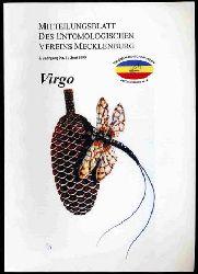 Virgo. Mitteilungsblatt des Entomologischen Vereins Mecklenburg. Jg. 3, Nr. 1