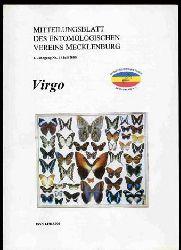 Virgo. Mitteilungsblatt des Entomologischen Vereins Mecklenburg. Jg. 4, Nr. 1