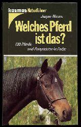 Nissen, Jasper:  Welches Pferd ist das? 130 Pferde- und Ponyrassen in Farbe. Kosmos-Naturführer