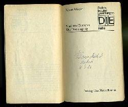 Möckel, Klaus:  Variante Tramper. Die Damengang. Zwei Kriminalromane. DIE-Reihe. Delikte Indizien Ermittlungen