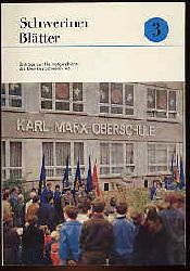 Schweriner Blätter Bd. 3. Beiträge zur Heimatgeschichte des Bezirkes Schwerin. 1983.