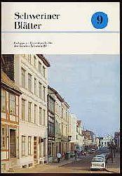 Schweriner Blätter Bd. 9. Beiträge zur Heimatgeschichte des Bezirkes Schwerin. 1989.