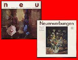 Jürß, Lisa:  Staatliches Museum Schwerin. Kunstsammlungen Schlösser und Gärten. Neuerwerbungen 1981-1985 und 1986-1989. Malerei Plastik Grafik Kunsthandwerk Münzen & Medaillien. (2 Ausstellungskataloge)