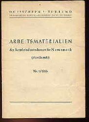 Arbeitsmaterialien des Bezirksfachausschusses für Numismatik (Münzkunde) Nr. 1.