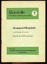 Kramer, S.:  Düngung der Obstgehölze. Lehrhefte für Kleingärtner, Siedler und Kleintierzüchter 7.