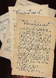 Korrespondenzblatt des Vereins für niederdeutsche Sprachforschung.