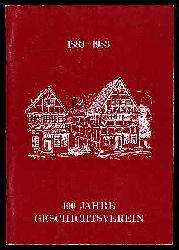 100 Jahre Geschichtsverein 1883 - 1983. Schriftenreihe des Heimatbund und Geschichtsvereins Herzogtum Lauenburg Bd. 20.