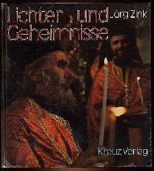 Zink, Jörg:  Lichter und Geheimnisse. Gedanken zur Menschwerdung Gottes.