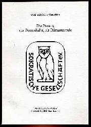Müller-Ramelsloh , Otthinrich :  Die Person, das Personhafte, als Primatenstufe. Eine philosophische Abhandlung. Sokratische Hefte 34.