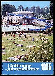 Göttinger Jahresblätter 1985. 8. Kalenderjahrgang.