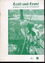 Land und Leute. Kreis Ludwigslust 1957 (nur) Heft 6.
