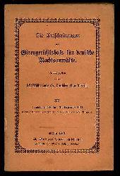 Die Entscheidungen des Ehrengerichtshofs für deutsche Rechsanwälte Bd. 15. 1. Januar 1910 bis 31. Dezember 1912 nebst Inhaltsverzeichnis des 13. bis 15 Bandes.