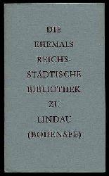 Die ehemals reichsstädtische Bibliothek zu Lindau (Bodensee).