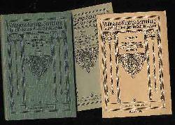 Daudet, Alphonse:  Elf Erzählungen aus Lettres de mon Moulin und Contes du Lundi. Velhagen & Klasings Sammlung französischer und englischer Schulausgaben. Prosateurs Francais 74. Lieferung. (nur) Ausgabe B.