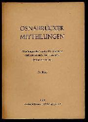 Osnabrücker Mitteilungen. Mitteilungen des Vereins für Geschichte und Landeskunde von Osnabrück. Historischer Verein. Bd. 71.