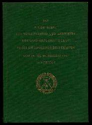 5. Konferenz der Vorsitzenden und Aktivisten der Landwirtschaftlichen Produktionsgenossenschaften vom 26. bis 28. Februar 1957 in Rostock.