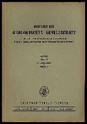 Berichte der Geologischen Gesellschaft in der Deutsche Demokratische Republik für das Gesamtgebiet der Geologischen Wissenschaften Bd. 4 (nur) H. 1.
