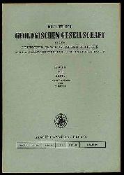 Berichte der Geologischen Gesellschaft in der Deutsche Demokratische Republik für das Gesamtgebiet der Geologischen Wissenschaften Bd. 10 (nur) H. 2.