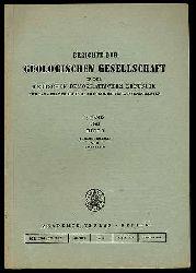 Berichte der Geologischen Gesellschaft in der Deutsche Demokratische Republik für das Gesamtgebiet der Geologischen Wissenschaften Bd. 8 (nur) H. 3.
