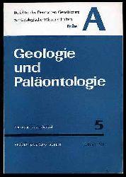 Geologie und Paläontologie. Berichte der Deutschen Gesellschaft für Geologische Wissenschaft. Reihe A. Bd. 15 (nur) H. 5.