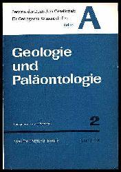 Geologie und Paläontologie. Berichte der Deutschen Gesellschaft für Geologische Wissenschaft. Reihe A. Bd. 15 (nur) H. 2.