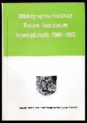 Bibliographia historiae rerum rusticarum internationalis 1989-1990.