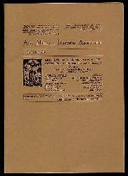 Acta Museorum Italicorum Agriculturae 15.