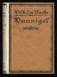 Raabe, Wilhelm:  Wunnigel. Erzählung. Wilhelm Raabe Bücherei. Erste Reihe: Kleinere Erzählungen 15. Bd.