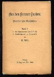 Witt, G.:  Aus den Bremer Landen. Plattdeutsche Geschichten. (nur) Bd. 1.