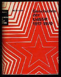 Berchin, Ilja B.:  Geschichte der UdSSR 1917 - 1970.