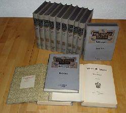 Rosegger, Peter:  Schriften. Volksausgabe. Zweite Serie. Bände 1 bis 12 und 15.