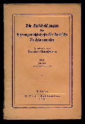 Die Entscheidungen des Ehrengerichtshofs für deutsche Rechsanwälte Bd. 23. Jahr 1929 nebst Inhaltsverzeichnis.