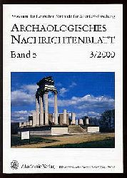 Archäologisches Nachrichtenblatt Bd. 5 (nur) Heft 3.