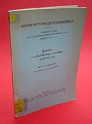 Schade, Heinrich:  Ergebnisse einer Bevölkerungsuntersuchung in der Schwalm. Abhandlungen der Akademie der Wissenschaften und der Literatur. Mathematisch-naturwissenschaftliche Klasse, Jg. 1950, Nr. 16.