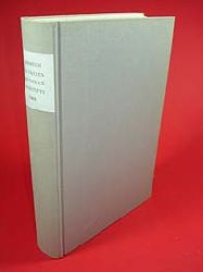 Lüders, Detlev (Hrsg.):  Jahrbuch des Freien Deutschen Hochstifts Frankfurt am Main 1968.