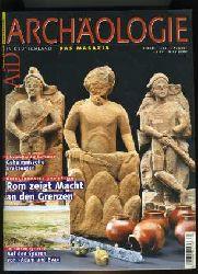 Archäologie in Deutschland (nur) H. 4.