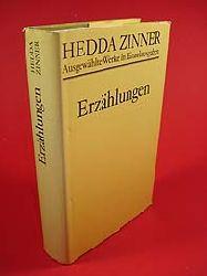 Zinner, Hedda:  Erzählungen. Ausgewählte werke in Einzelausgaben.