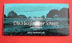 Müller, Manfred:  Die Mecklenburger Schweiz unter anderem. Eine Miniatur. Brockhaus-Miniatur.