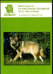 Mitteilungen der Naturforschenden Gesellschaft West-Mecklenburg. 4. Jg. Nr. 1.