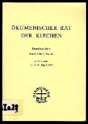 Ökumenischer Rat der Kirchen. Zentralausschuss. Protokoll der 29. Tagung. Genf, Schweiz 10. bis 18. August 1976.