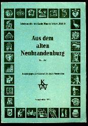 Wagner, Annalise:  Aus dem alten Neubrandenburg. Teil 3. Schriftenreihe des Karbe-Wagner-Archivs 10.